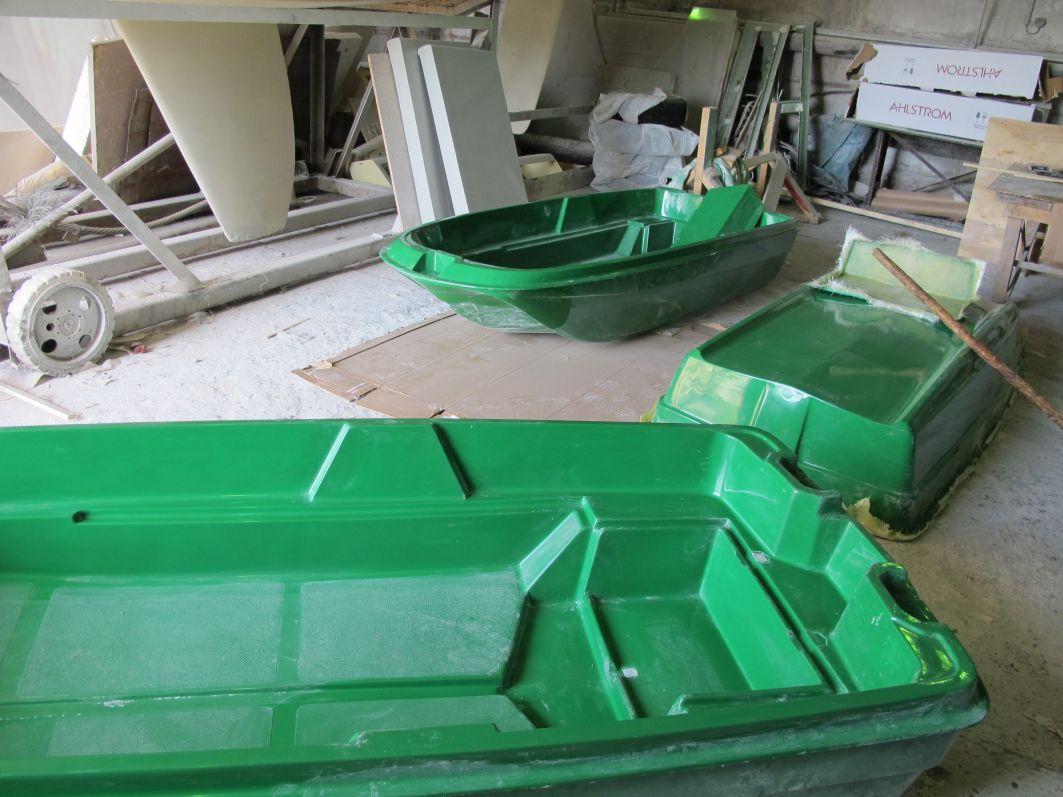 Делаем лодку из стеклоткани